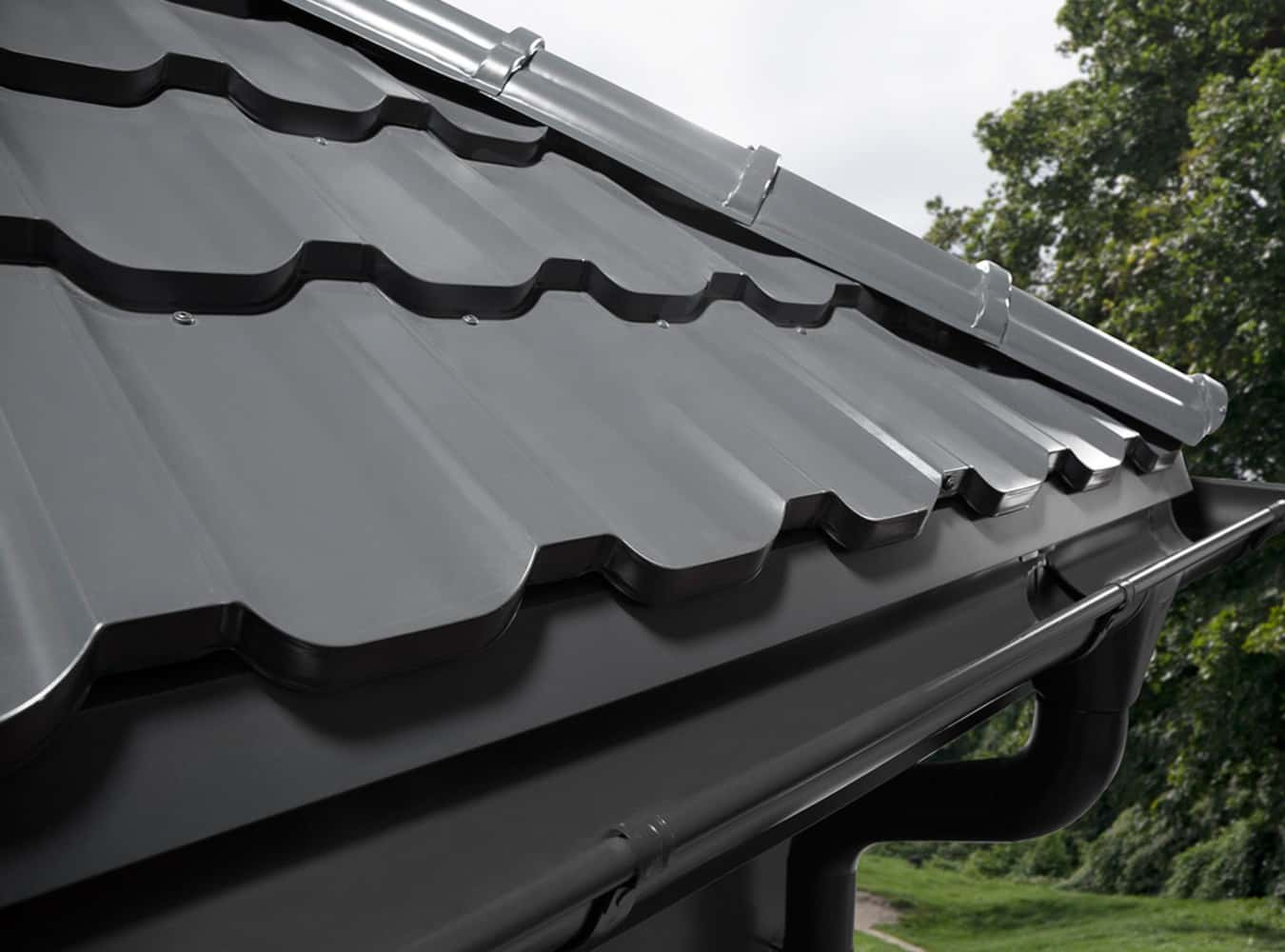 blacha na dach panorama